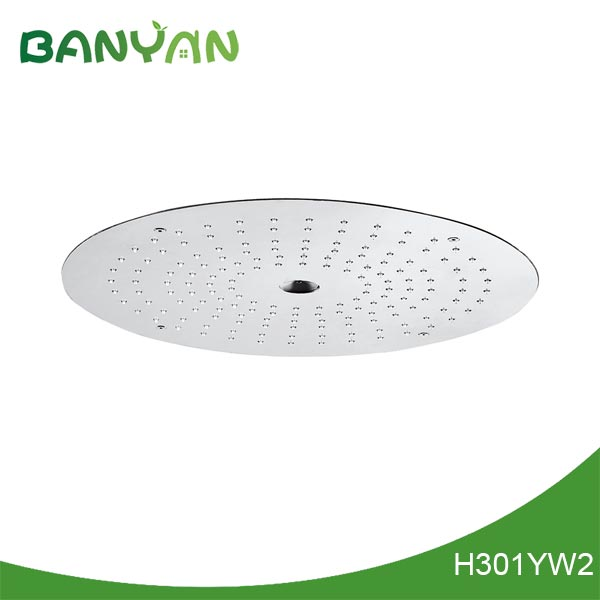 Colour changing led shower head IP68