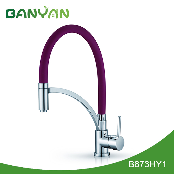 kitchen sink faucet with pull out spray banyan kokols deck mount kitchen sink faucet with pull out spray