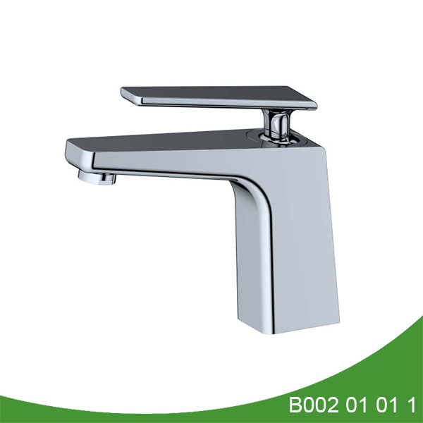 Single handle upc basin faucet - Lacy Series