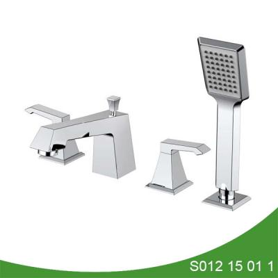 Widespread deck mount upc bathtub faucet - Aron Series