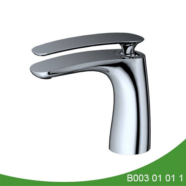 Single handle upc basin faucet - Gross Series