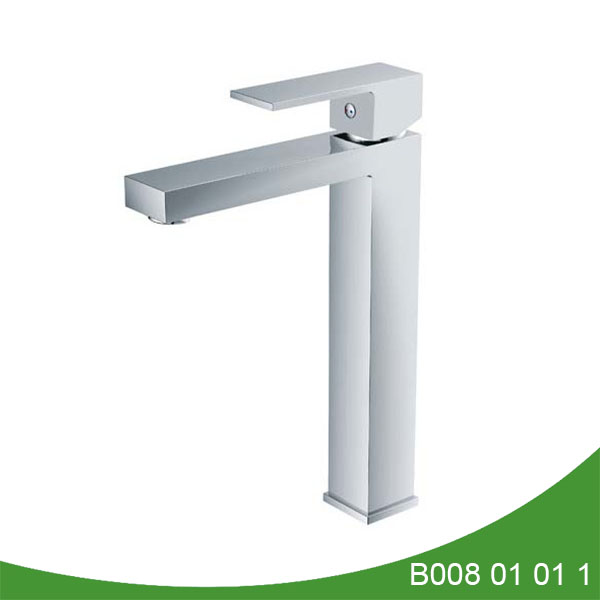 Single handle upc vessel basin faucet - Nance Series
