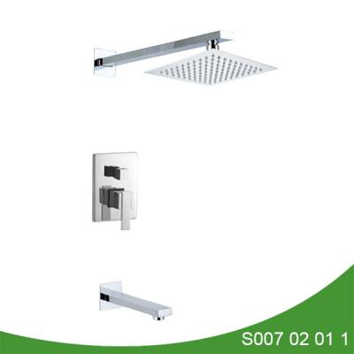 Concealed upc shower faucet with spout - Mega Series