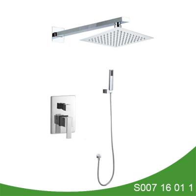 Concealed upc shower faucet with hand shower - Mega Series