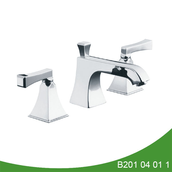 UPC widespread bathroom faucet B201 04 01 1