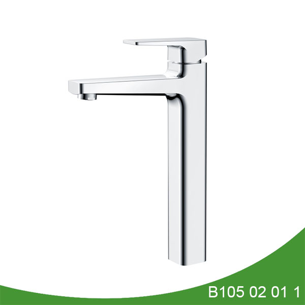 single hole vessel sink faucet