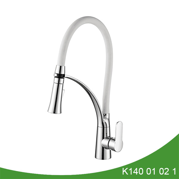 single hole pull down sink faucet K145 02 01 1
