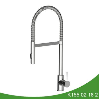 Single handle pull down kitchen faucet  K155 02 16 2