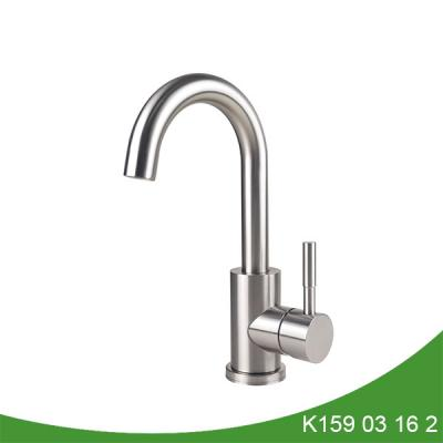 Single handle stainless steel kitchen faucet K159 03 16 2