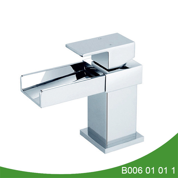 Single handle waterfall basin faucet B006 01 01 1