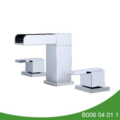 Widespread waterfall basin faucet B006 04 01 1