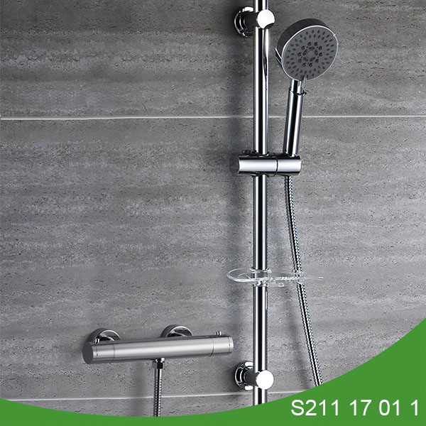 Thermostatic t bar shower set S211 17 01 1