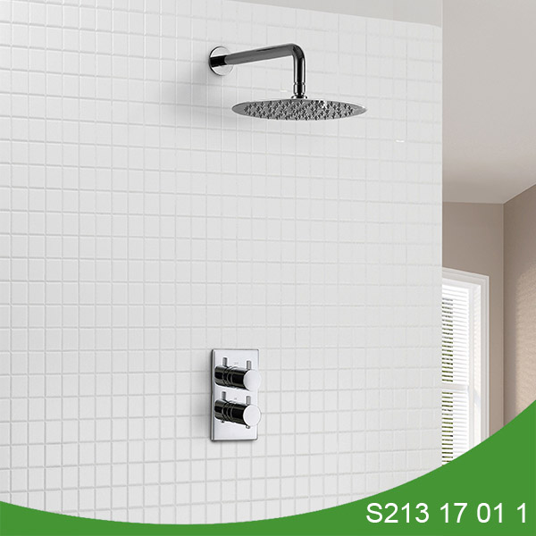 Thermostatic concealed shower set S213 17 01 1