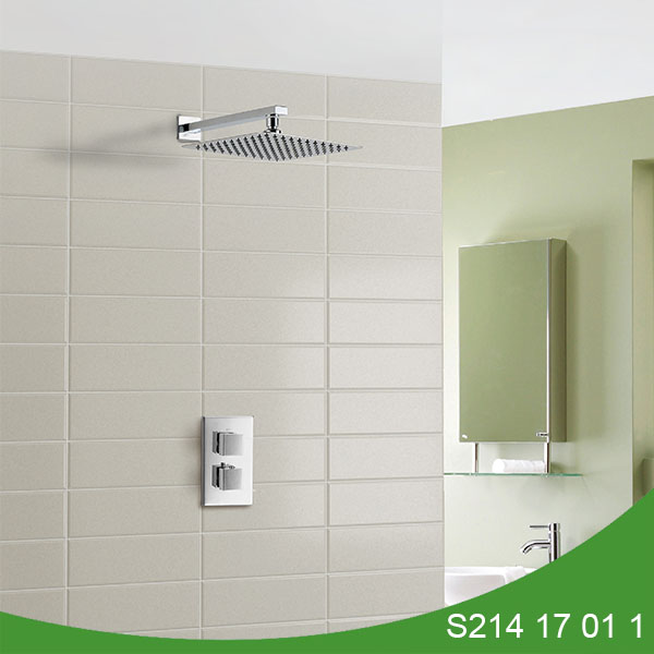 Thermostatic concealed shower set S214 17 01 1