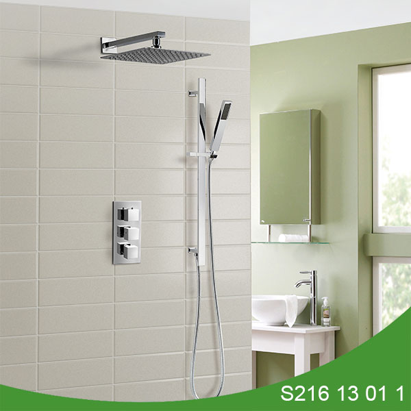 Thermostatic concealed shower set S216 13 01 1