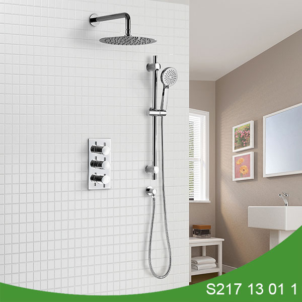 Thermostatic concealed shower set S217 13 01 1