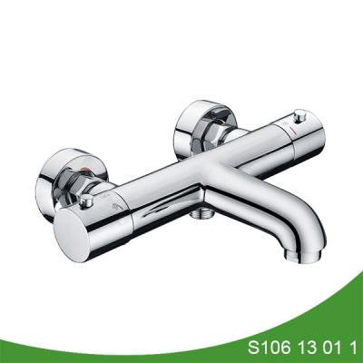 Thermostatic shower mixer with spout S106 13 01 1