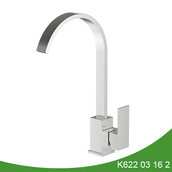 Upc stainless steel kitchen faucet