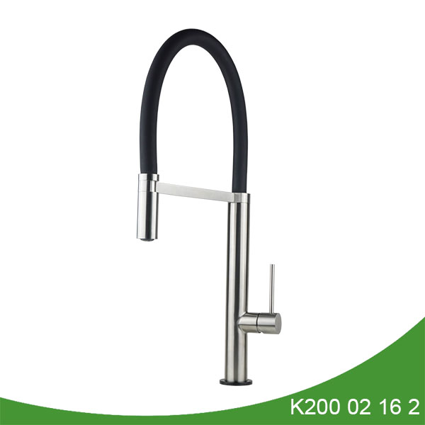 Kitchen mixer tap with pull down spray