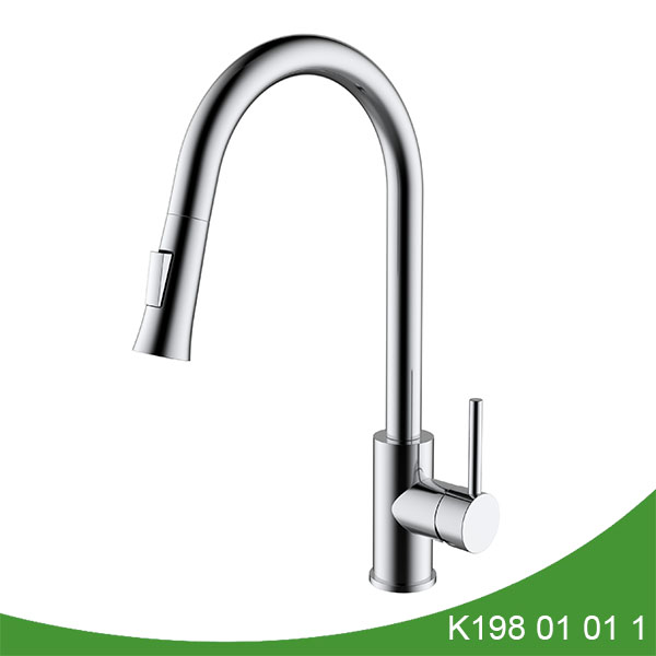 pull out kitchen faucet K198 01 01 1