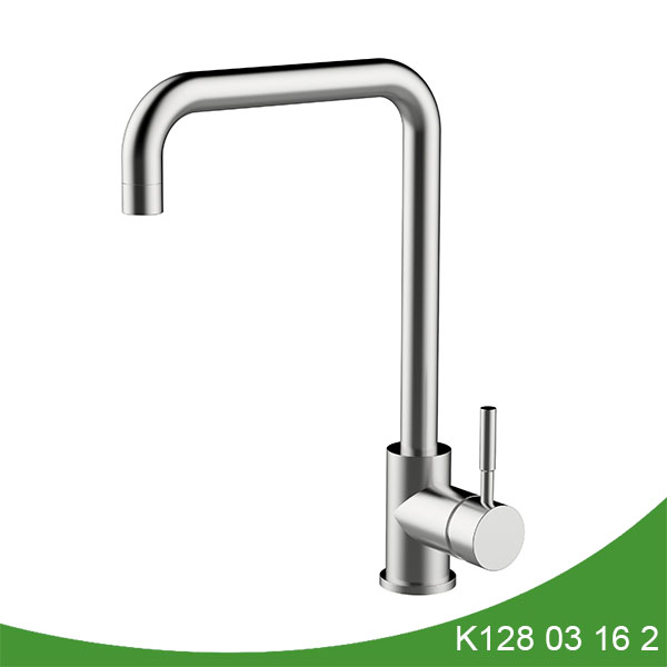 stainless steel single handle kitchen faucet - K128 03 16 2