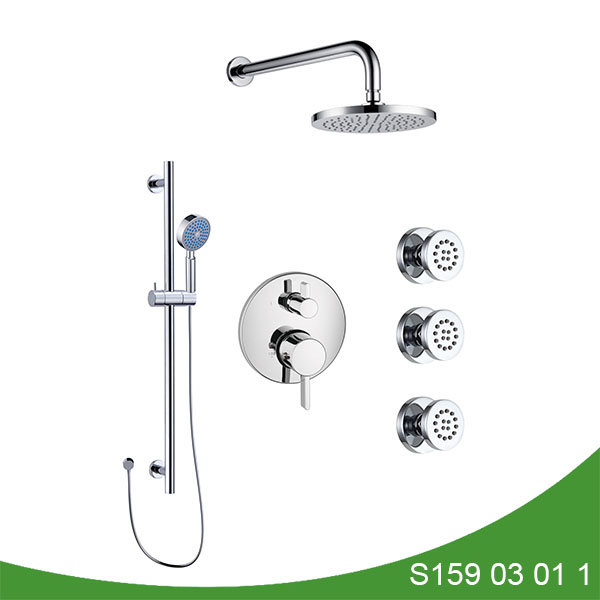 Three function shower faucet S159 03 01 1