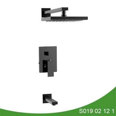 Concealed upc two function shower faucet - Mason Seires