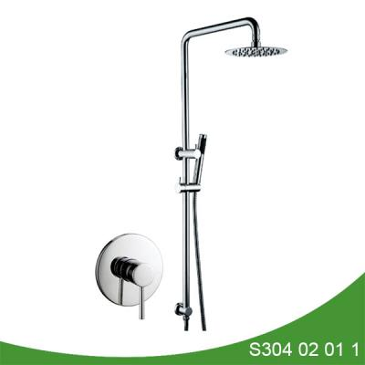 Exposed shower faucet S304 02 01 1