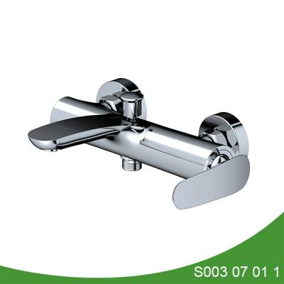 Single lever bath shower mixer tap