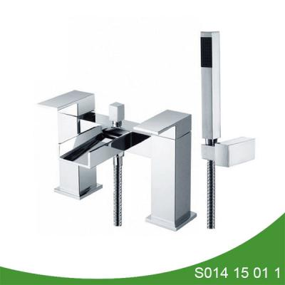 Deck mount bath and shower mixer S014 15 01 1