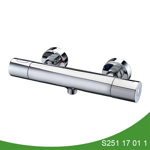 Thermostatic shower mixer s251 17 01 1