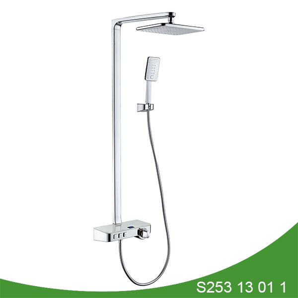 Thermostatic digital display shower set S235 13 01 1
