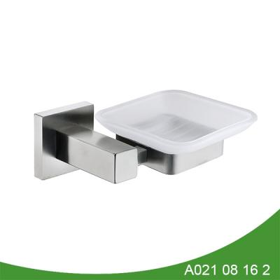 Bathroom metal hanging soap dish