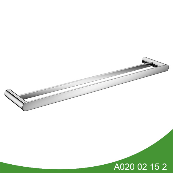 stainless steel double towel bar A020 02 15 2