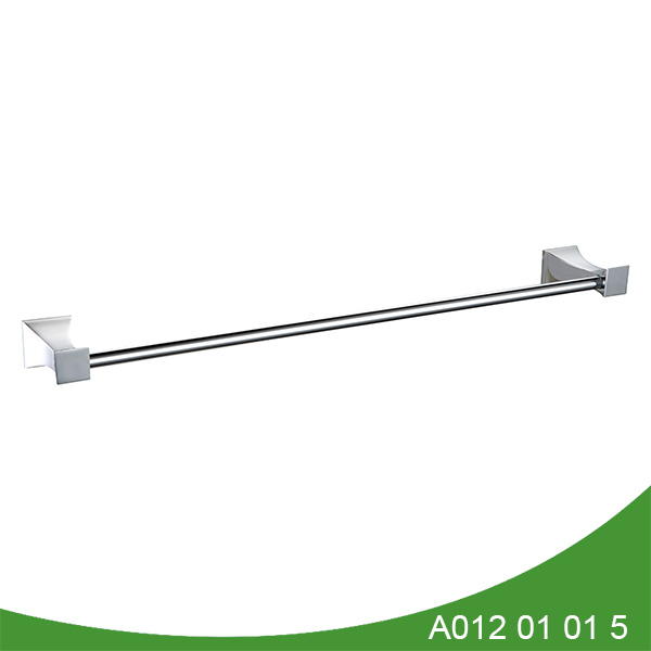 stainless steel and zinc alloy towel bar A012 01 01 5