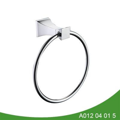 stainless steel and zinc alloy towel ring A012 04 01 5