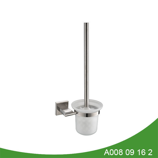 stainless steel brush holder A008 09 16 2