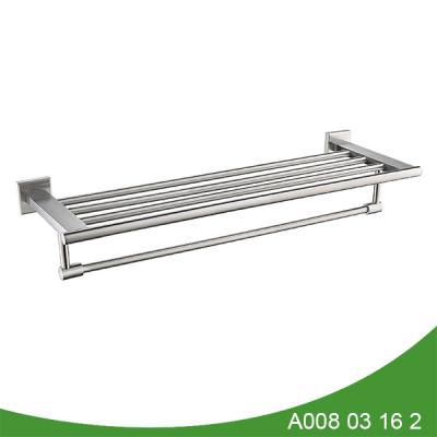 stainless steel double towel shelf A008 03 16 2