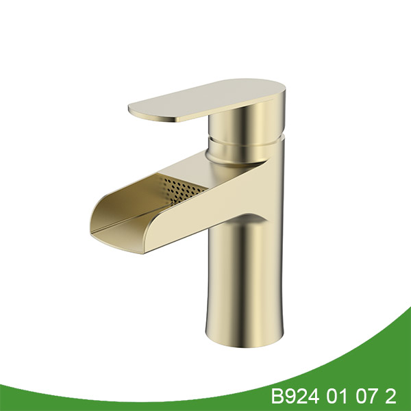 stainless steel waterfall basin faucet B924 01 16 2