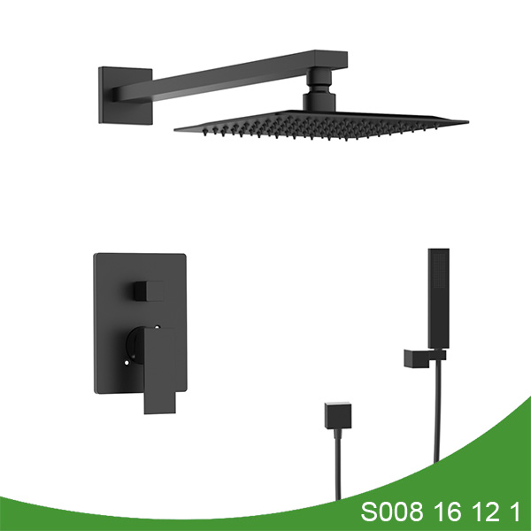 Concealed upc shower with hand shower - Mason series