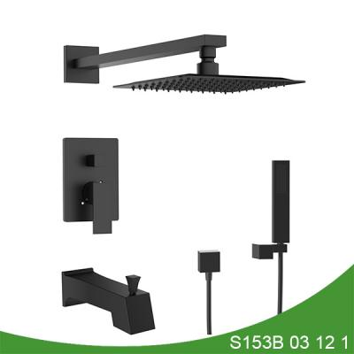 Concealed upc three function shower faucet - Mason Series