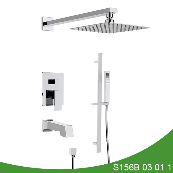 Three funciton concealed shower faucet S156B 03 01 1