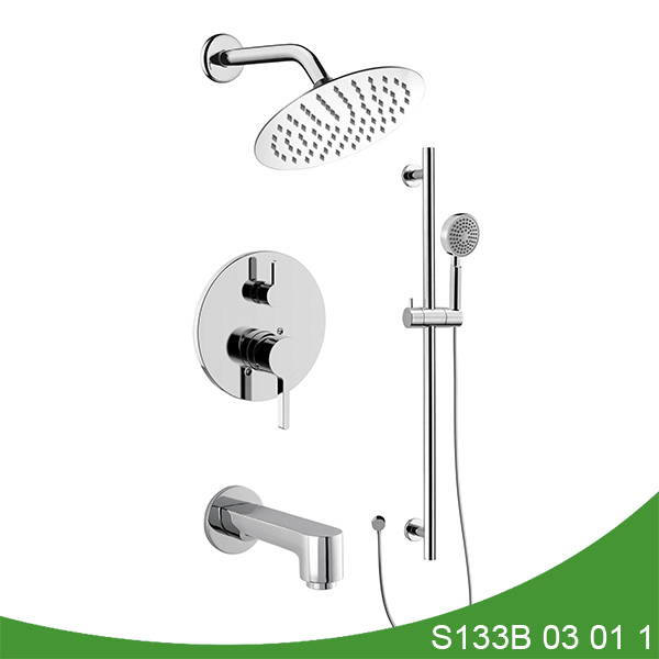 Three function shower faucet S133B 03 01 1