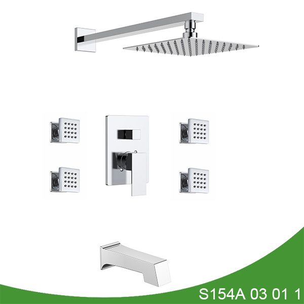 Three function shower faucet S154A 03 01 1