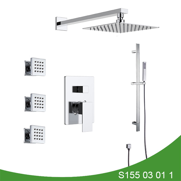 Three function shower faucet S155 03 01 1