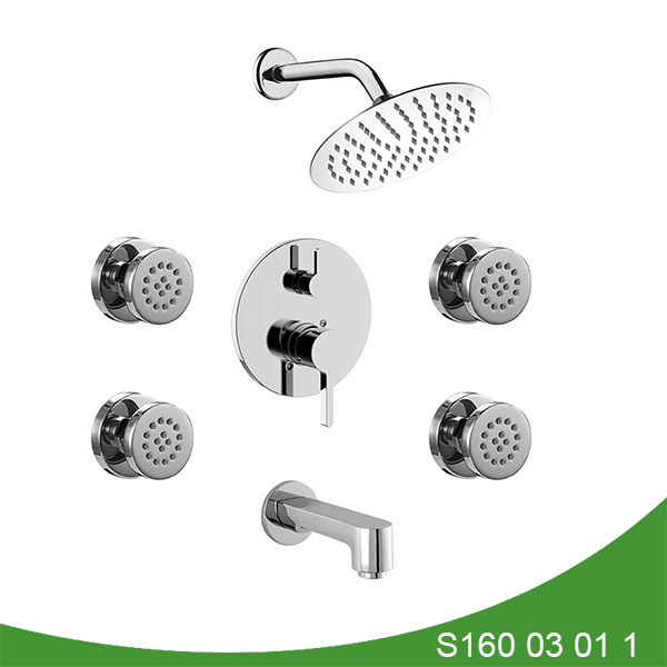 Thress function shower faucet S160 03 01 1