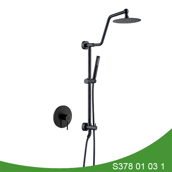 Oil rubbed bronze exposed shower set S378 01 03 1