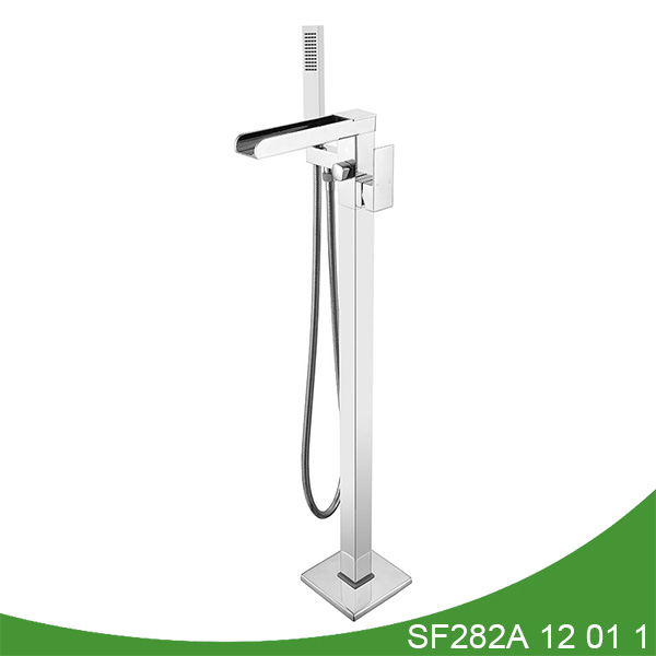 Waterfall floor standing bathtub faucet SF282A 12 01 1