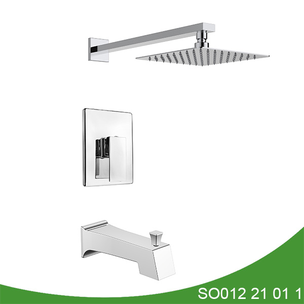 Concealed hot and cold valve shower set SO012 21 01 1