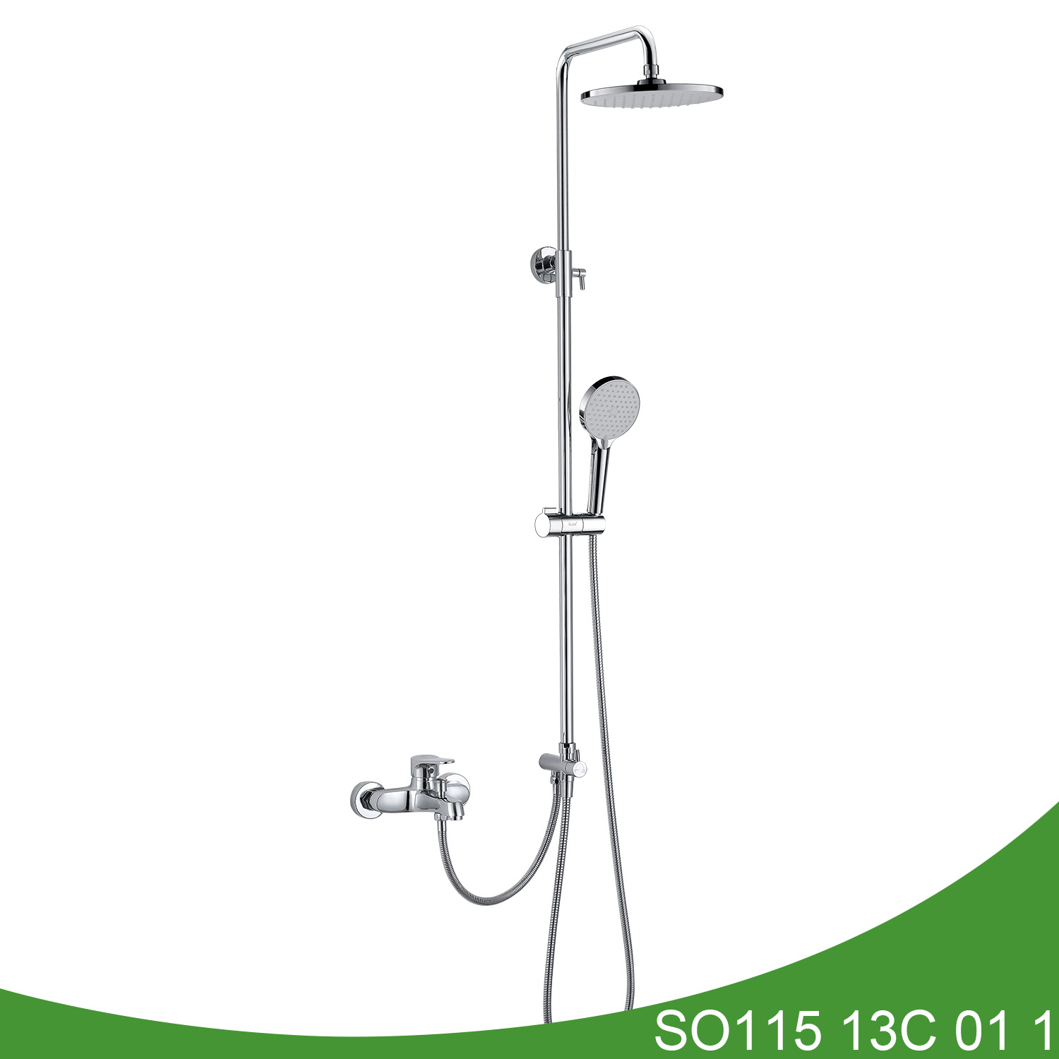 Exposed shower set SO115 13C 01 1